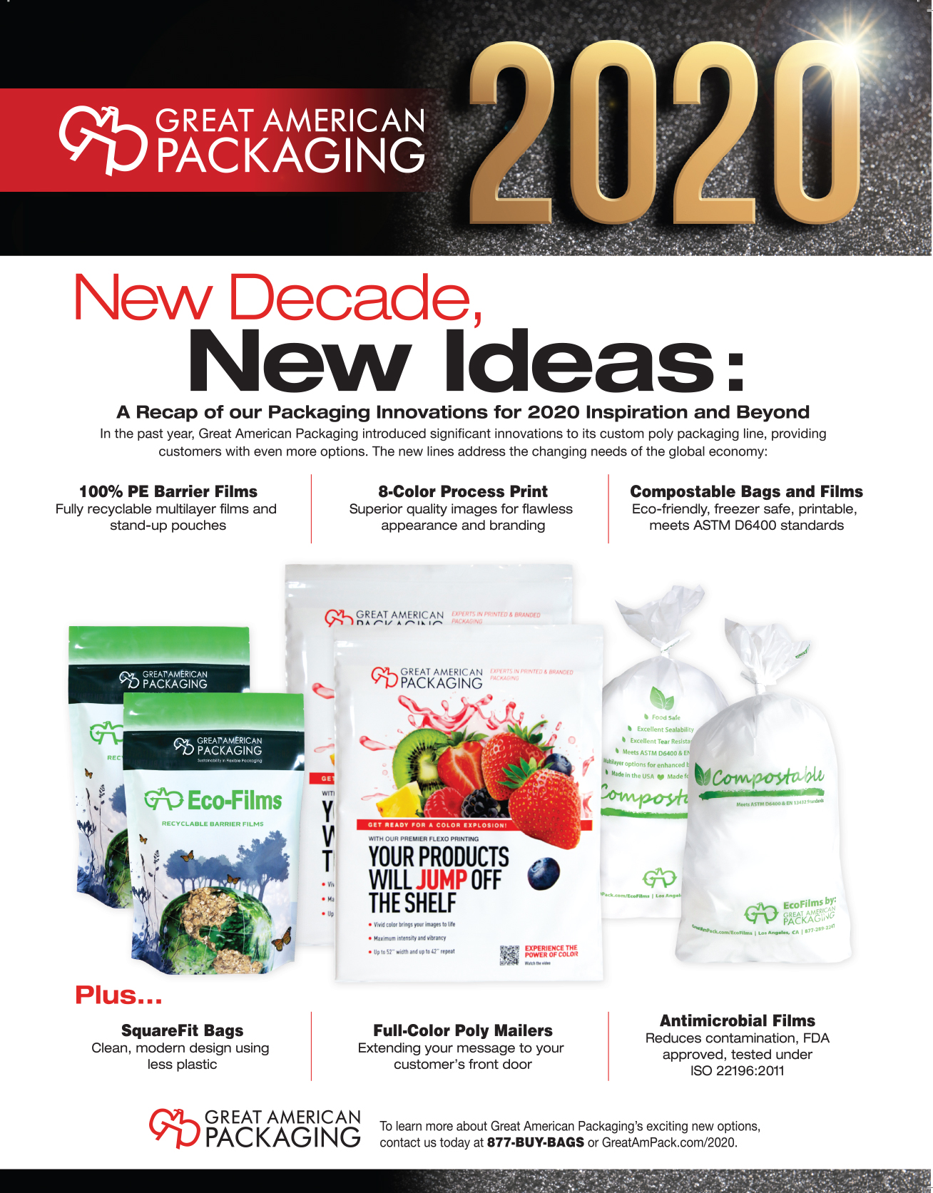 Packaging Innovations Infographic